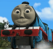 Gordon from thomas and friends as Dr.Bravestone