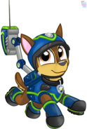 Paw Patrol Spy Chase vector