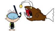 Stanley Griff meets Humpback Angelerfish
