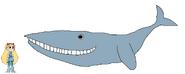 Star meets Blue Whale