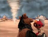 Elmo as Pecos Bill in Elmo's World Wild Wild West