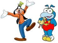 Goofy & Baby Gonzo