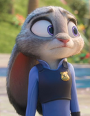 Judy sees mammals naked outside