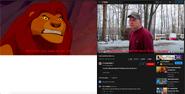 Mufasa vs Psycho Dad