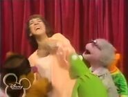 The Muppets tickling Ruth Buzzi