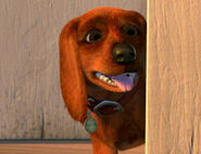 Buster in Toy Story 2