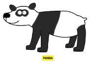 Emmett's ABC Book Panda