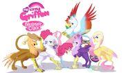 My Little Griffon- Friendship is CAWW by FaeDeeDraws