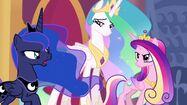 Princess Celestia, Princess Luna and Princess Cadence (My Little Pony - The Movie)