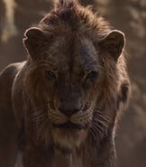 Scar in The Lion King (2019)