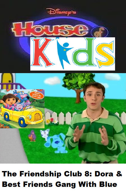 Opening & Closing to Dora & Friends Meet Blue's Clues VHS