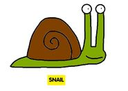 Emmett's ABC Book Snail