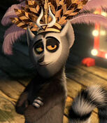 King Julien in Madagascar 3 Europe's Most Wanted