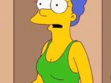 Marge Simpson in Her Green Swimsuit