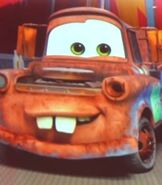 Mater in Lightning McQueen's Racing Academy