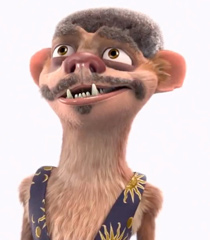 Neil deBuck Weasel (Ice Age: Collision Course)