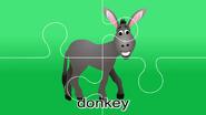 Nursery Tracks Donkey