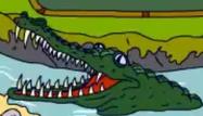 TWT 2000 Video Game Crocodile