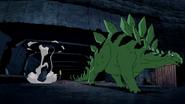 Beast Boy as Stegosaurus