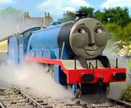 Gordon as Fred Flintstone