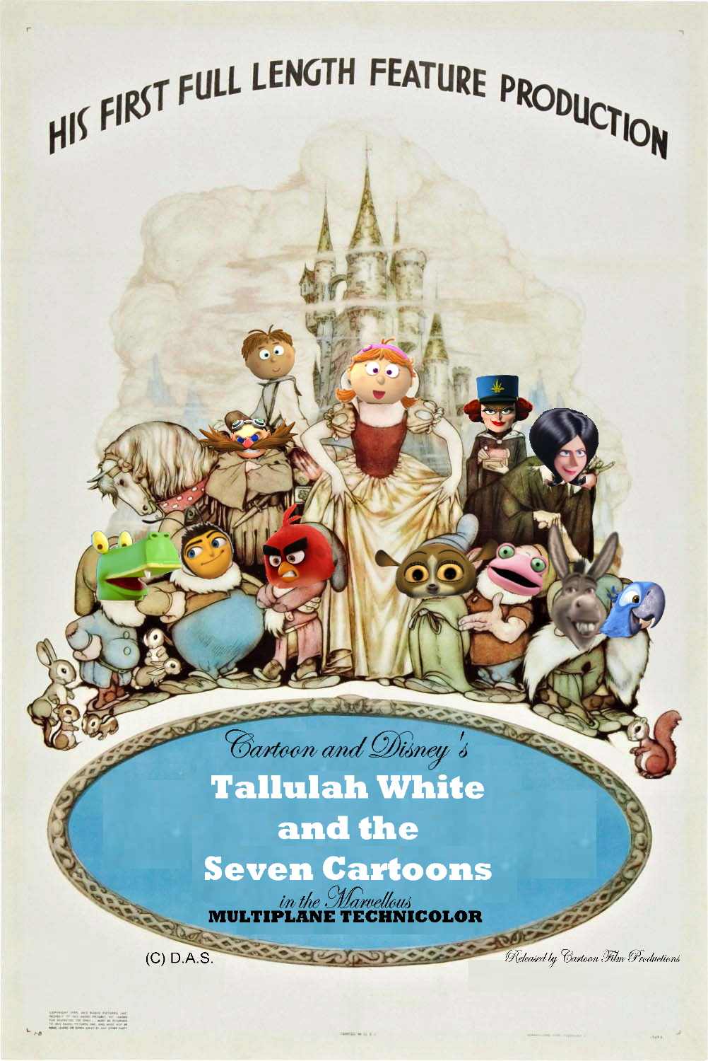 Tallulah White and the Seven Cartoons