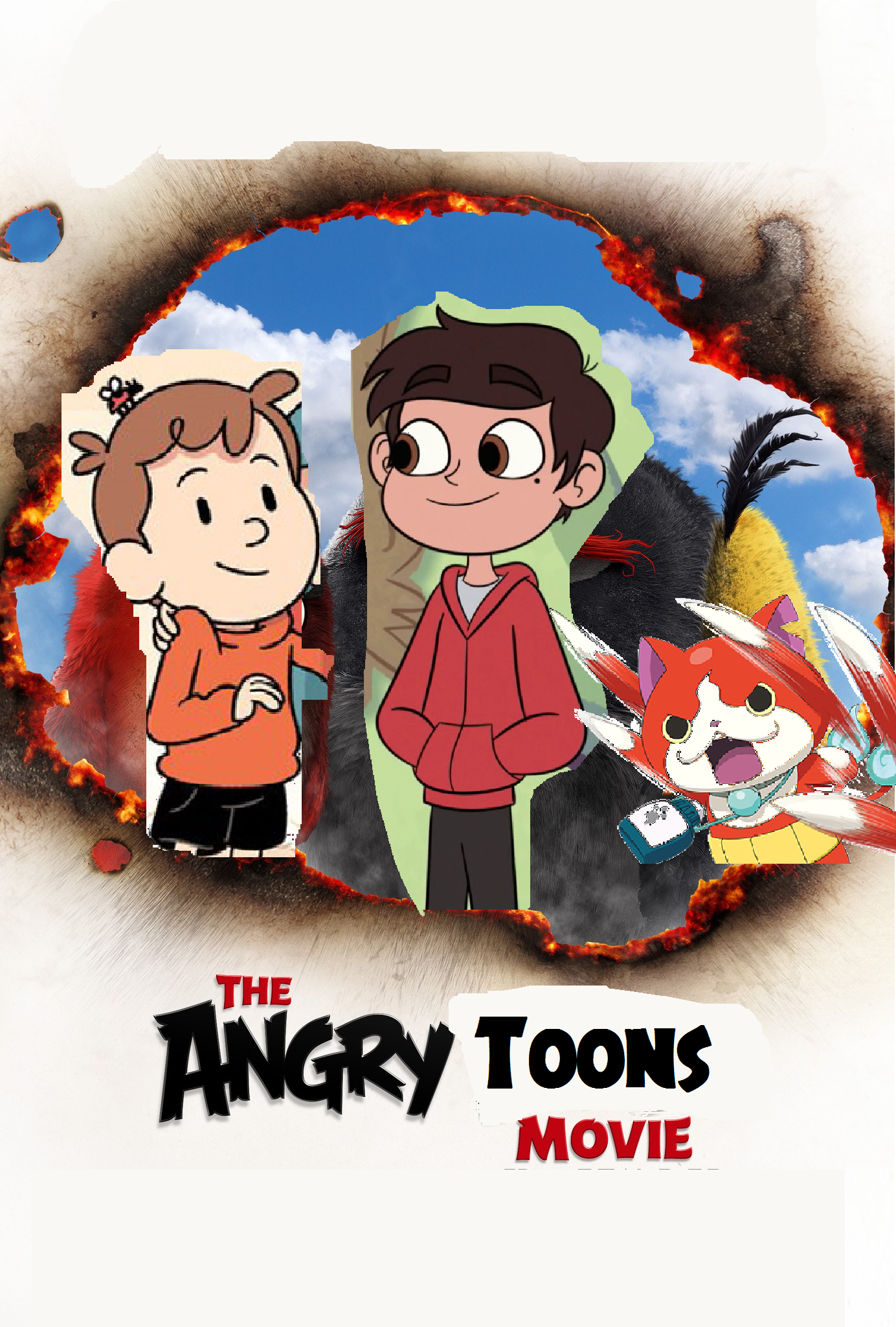 The Angry Toons Movie (Zack Isaac Sanchez Style)