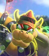 Bowser in Mario Golf Super Rush