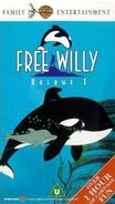 Free Willy The Animated Series Volume 1 VHS