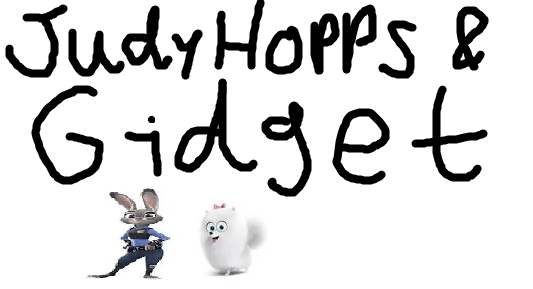 Judy Hopps and Gidget (TheLastDisneyToon's Style)