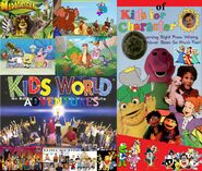 Kids World's Adventures of Kids For Character