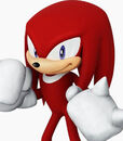 Knuckles the Echidna in Sonic at the Olympic Games