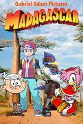 Madagascar (Gabriel Adam Pictures Style) Movie Poster