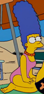 Marge pink swimsuit