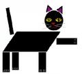 Math blaster jr spectacular shape circus parallelogram cat