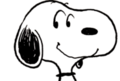 Snoopy smiling