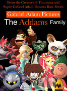 The Addams Family (1991; Gabriel Adam Pictures Style) Poster