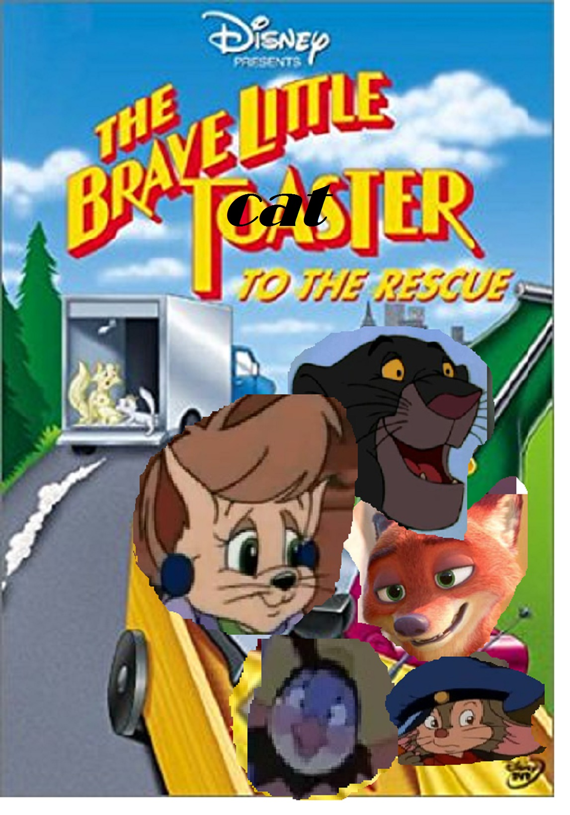 The Brave Little Cat to the Rescue (170Movies Style)