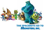 The Spacebots Go to Monsters Inc.
