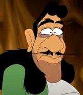 Captain Hook in Peter Pan Return to Neverland