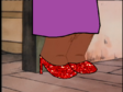Little Beatrice Wears the Ruby Slippers