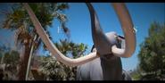 San Diego Zoo Mammoth Statue