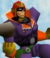 Captain Falcon in Super Smash Bros.