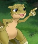 Ducky in The Land Before Time 9 Journey to Big Water
