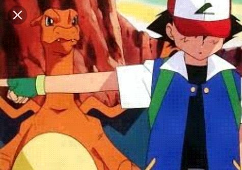 Ash Releases Charizard