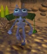 Flik in the A Bug's Life Game