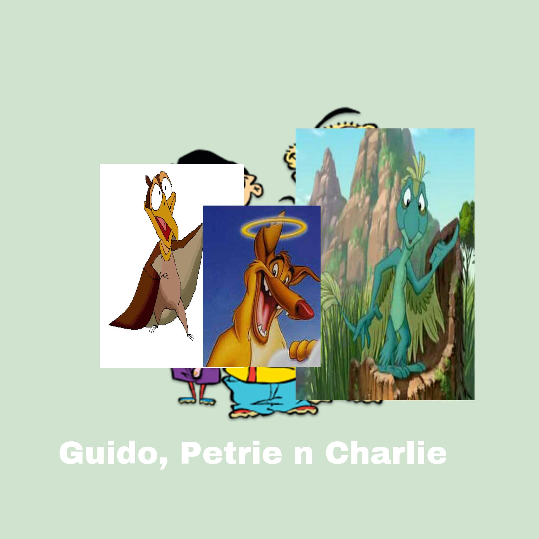 Guido, Petrie n Charlie