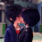 Hiro and Gogo's Second Kiss