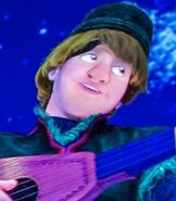 Kristoff in Frozen Ever After