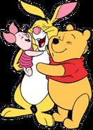 Rabbit-piglet-pooh