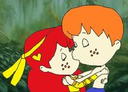 Sam and Soleil Kiss